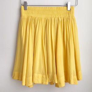 Forever21 yellow mini Skirt